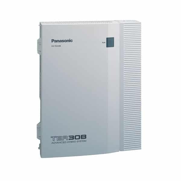 Centralita analógica Panasonic KX-TEA308