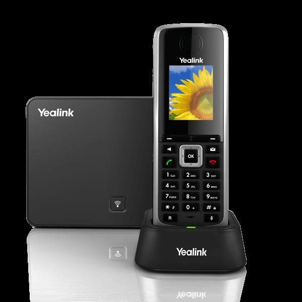 Teléfono sip DECT Yealink W52P