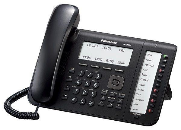 Teléfono IP Panasonic KX-NT556