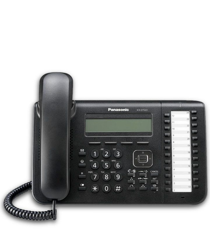 Teléfono digital Panasonic KX-DT543