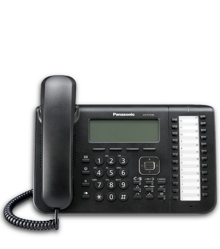 telefono digital panasonic kx-dt546