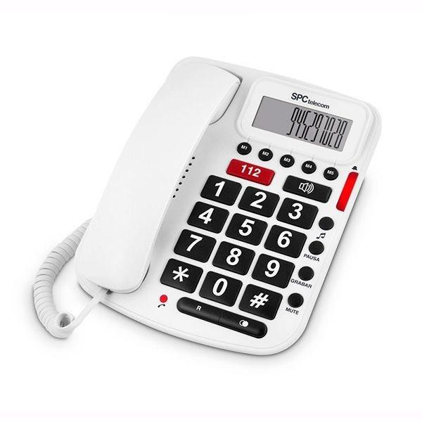 Teléfono fijo teclas grandes SPC 3293B
