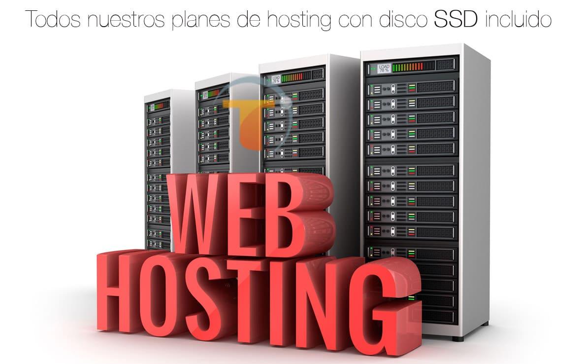 Planes de hostingweb con SSD