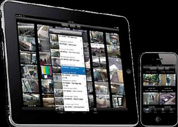 accede a tus camaras de vigilancia ip desde el tablet
