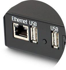 eyesdn-net-8a conexión lan y usb