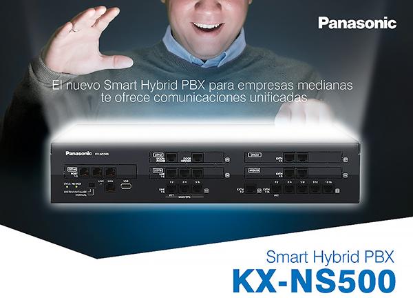 Centralita NS-500 hybrid PBX