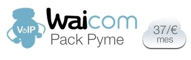pack-2 lineas ip waicom