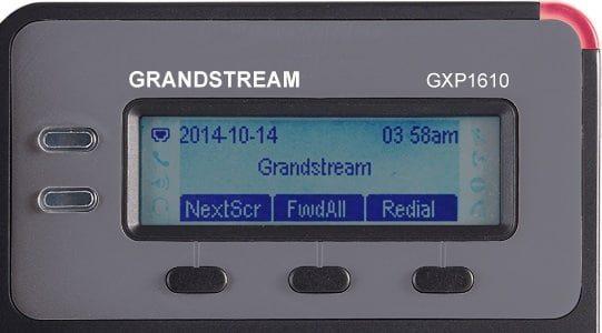 pantalla-Grandstream-GXP1610