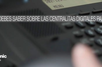 centralitas digitales panasonic