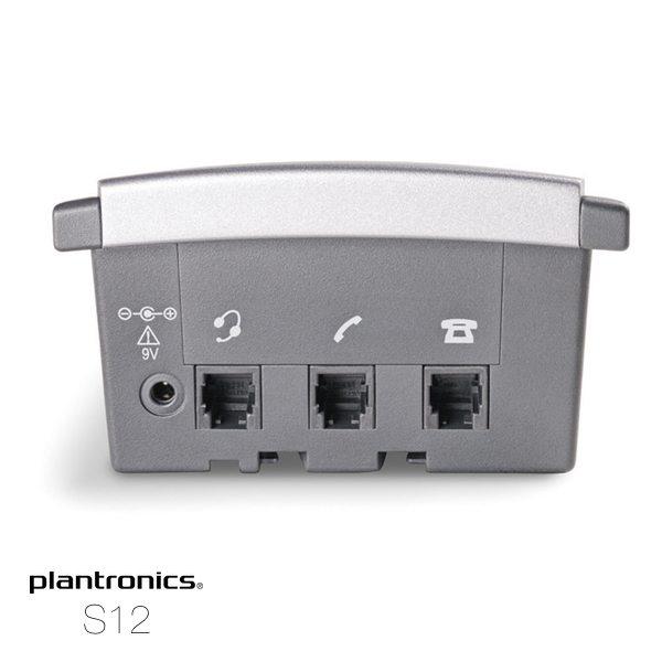 plantronics s12 conexiones