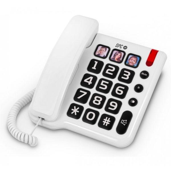 Teléfono sobremesa teclas grandes SPC comfort photo 3294B