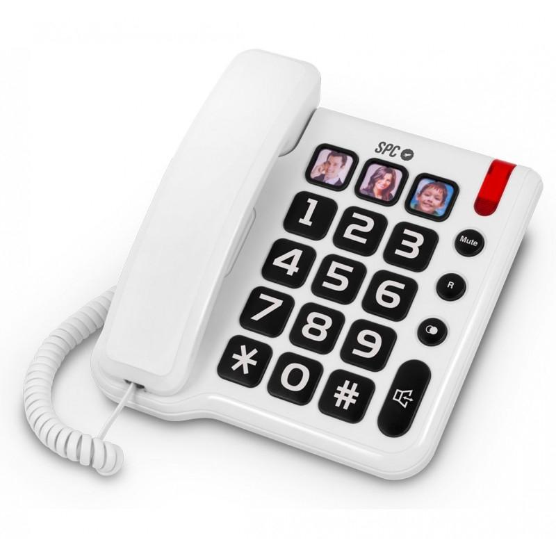 Teléfono fijo teclas grandes SPC comfort photo 3294B
