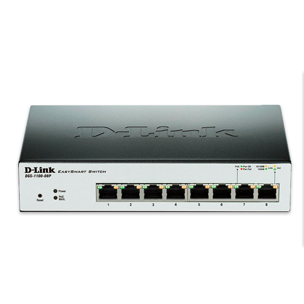 Switch D-Link-DGS-1100-08P