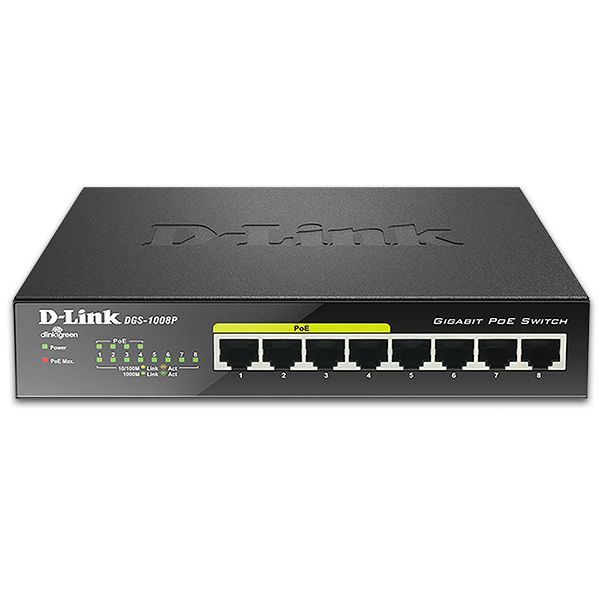Dlink-DGS-1008P-switch-poe
